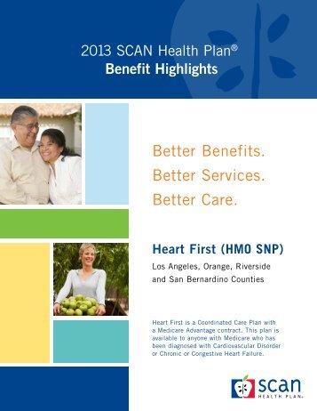Benefit Highlights - SCAN Health Plan