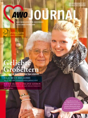 Deutschland sucht den »super senior«! - AWO Journal