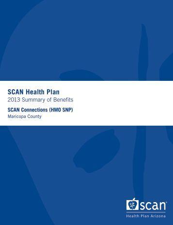 SCAN Connections (HMO SNP) - SCAN Health Plan