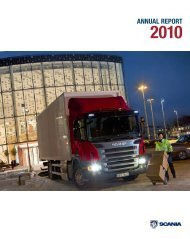 ANNUAL REPORT - Scania