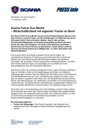 Scania Fahrer Eco-Modul – Wirtschaftlichkeit mit ... - scania.co.bw