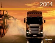 Scania annual report 2004