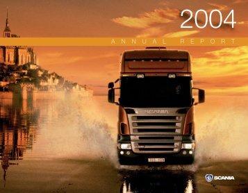 Scania annual report 2004