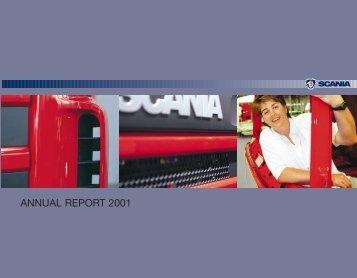 Scania annual report 2001