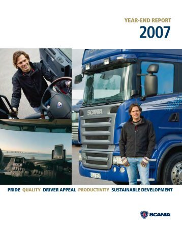 Scania Year-end report 2007