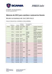 PRESS info - Scania