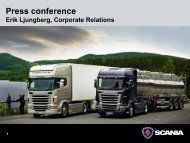 Scania Year-end Report January-December 2009