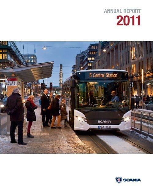 Scania Annual Report 2011