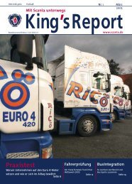 King's Report 2005-01 - Scania