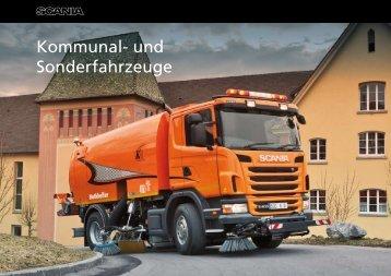 Kommunal- und Sonderfahrzeuge - Scania