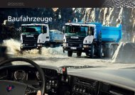 Scania Baufahrzeuge
