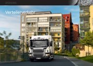 Verteilerverkehr - Scania