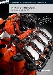 Scania Industriemotoren - EU Stage IV, US Tier 4f