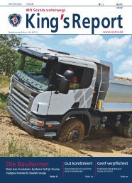 King's Report 2007-01 - Scania