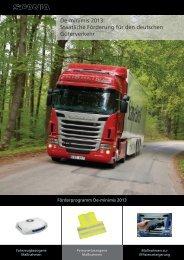 De-minimis 2013: Staatliche Förderung für den deutschen ... - Scania