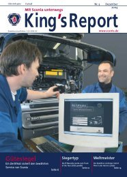 King's Report 2004-03 - Scania