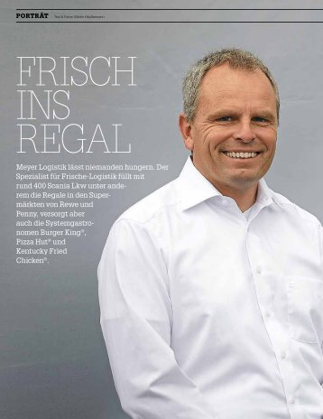 Meyer Logistics - Frisch ins Regal - Scania