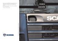 Scania Zubehör. Baureihe 4