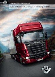 Das neue Scania V8 Lkw-Programm