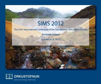 detailed programme - SIMS - Scandinavian Simulation Society