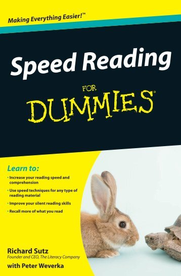 Speed Reading - Scan My Library