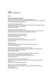 'scape Volume 2, Autumn 2009 News Dossier ... - Scape Magazine