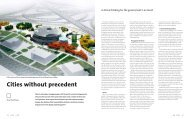 Cities without precedent - Scape Magazine
