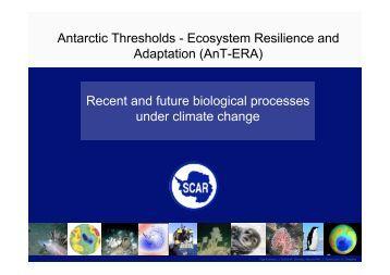 AnT-ERA - Scientific Committee on Antarctic Research