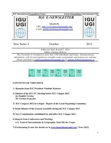 New Series 4 - Scientific Committee on Antarctic Research