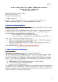 Report of XXXI SCAR SSG Life Sciences Meeting, Buenos Aires, 30 ... - Page 4