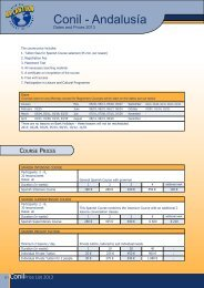 Academia Atlantika, Date, Course, Prices