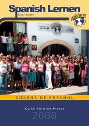 CURSOS DE ESPAÑOL - Academia Atlantika