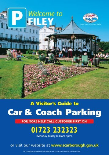 11933 Filey Parking Leaflet - Scarborough Borough Council