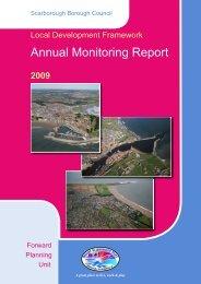 Annual Monitoring Report 2009 - Scarborough Borough Council