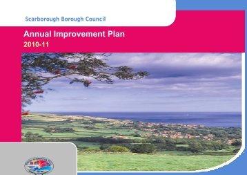 Annual Improvement Plan 2010/11 - Scarborough Borough Council