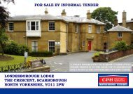 londesborough lodge - Scarborough Borough Council