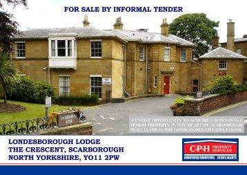 londesborough lodge - Scarborough Borough Council