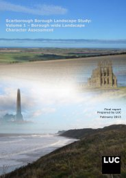 Volume 1 – Borough wide Landscape Character Assessment