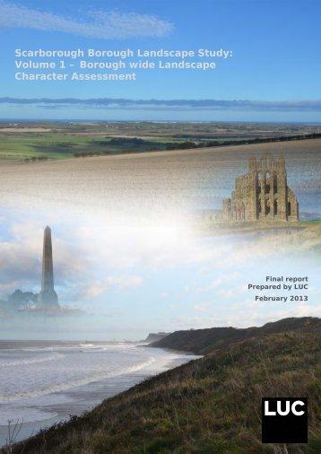 Volume 1 – Borough wide Landscape Character Assessment