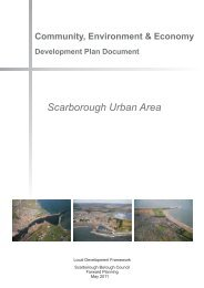 Community, Environment and Economy DPD: Scarborough Urban ...