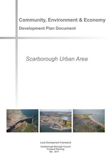 Community, Environment and Economy DPD: Scarborough Urban ...