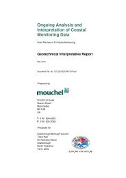 Latest monitoring report - Scarborough Borough Council