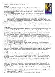 Activiteitenverslag 2007 (PDF)