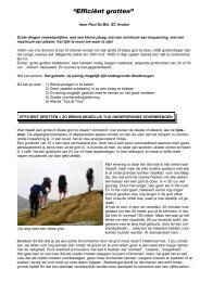 Artikel efficient grotten.pdf - Speleoclub Avalon