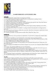 Activiteitenverslag 2006 (PDF)