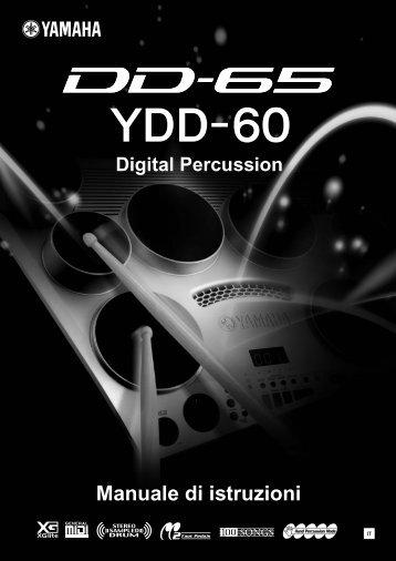 DD-65/YDD-60 Manuale di istruzioni