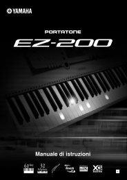 EZ-200 Owner's Manual - Scavino