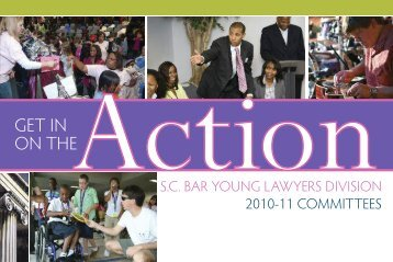 09 YLD signup - South Carolina Bar Association