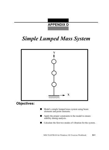 D. Simple Lumped Mass System - SCC