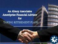 An Abney Associates Ameriprise Financial Advisor for Taking Retirement Plans